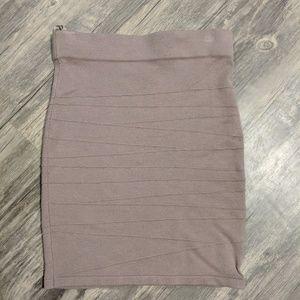 [Arden B] Mauve colored skirt